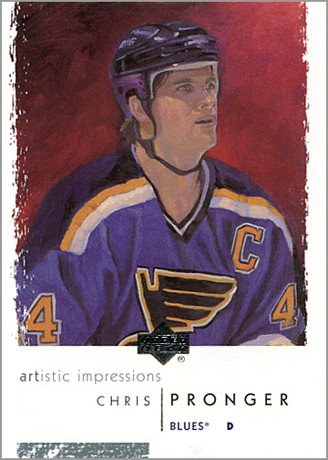 2002-03 Upper Deck Artistic Impressions #76 - Chris Pronger