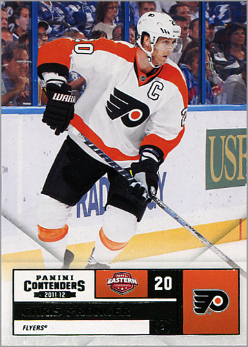2011-12 Panini Contenders #20 - Chris Pronger