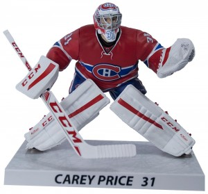 Carey Price action figure by Imports Dragon