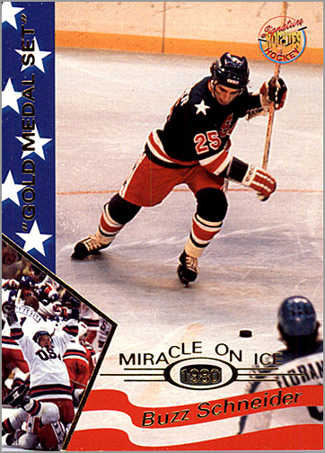 1995 Miracle on Ice #30 - Buzz Schneider
