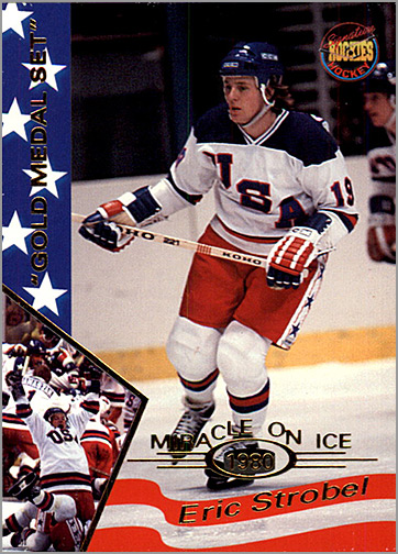 1995 Miracle on Ice #35 - Eric Strobel