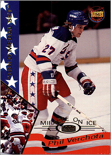 1995 Miracle on Ice #37 - Phil Verchota