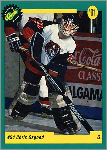 1991 Classic Draft Picks #43 - Chris Osgood
