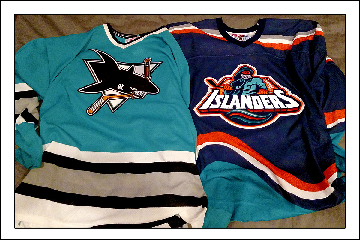 Sharks_and_Islanders_jerseys