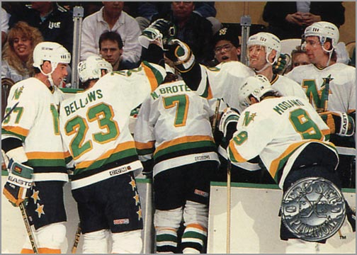 #143 - Minnesota North Stars, Platinum Performance (view back)