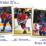 1990-91 Bowman Hockey Error Cards