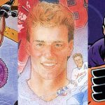 Ten Offbeat Eric Lindros Hockey Cards