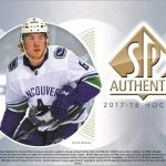 Box Break:  2017-18 SP Authentic