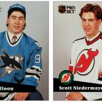 Pat Falloon & Scott Niedermayer: The Case of the Missing Pro Set Insert Cards