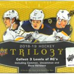 Box Break:  2018-19 Upper Deck Trilogy